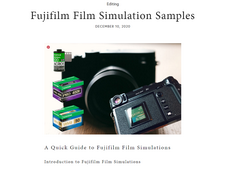 Film Simulations